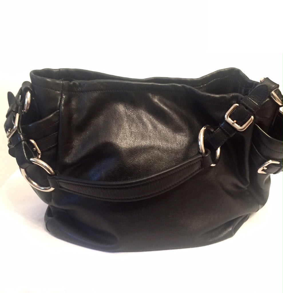 Prada Black Leather Bag | Gently Used | - Secret Stash