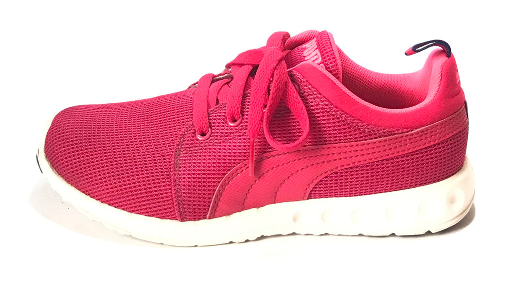 Puma Pink Lace-Up Sneakers | Gently Used |