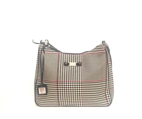 Ralph Lauren Houndstooth Shoulder Bag | Gently Used | - Secret Stash