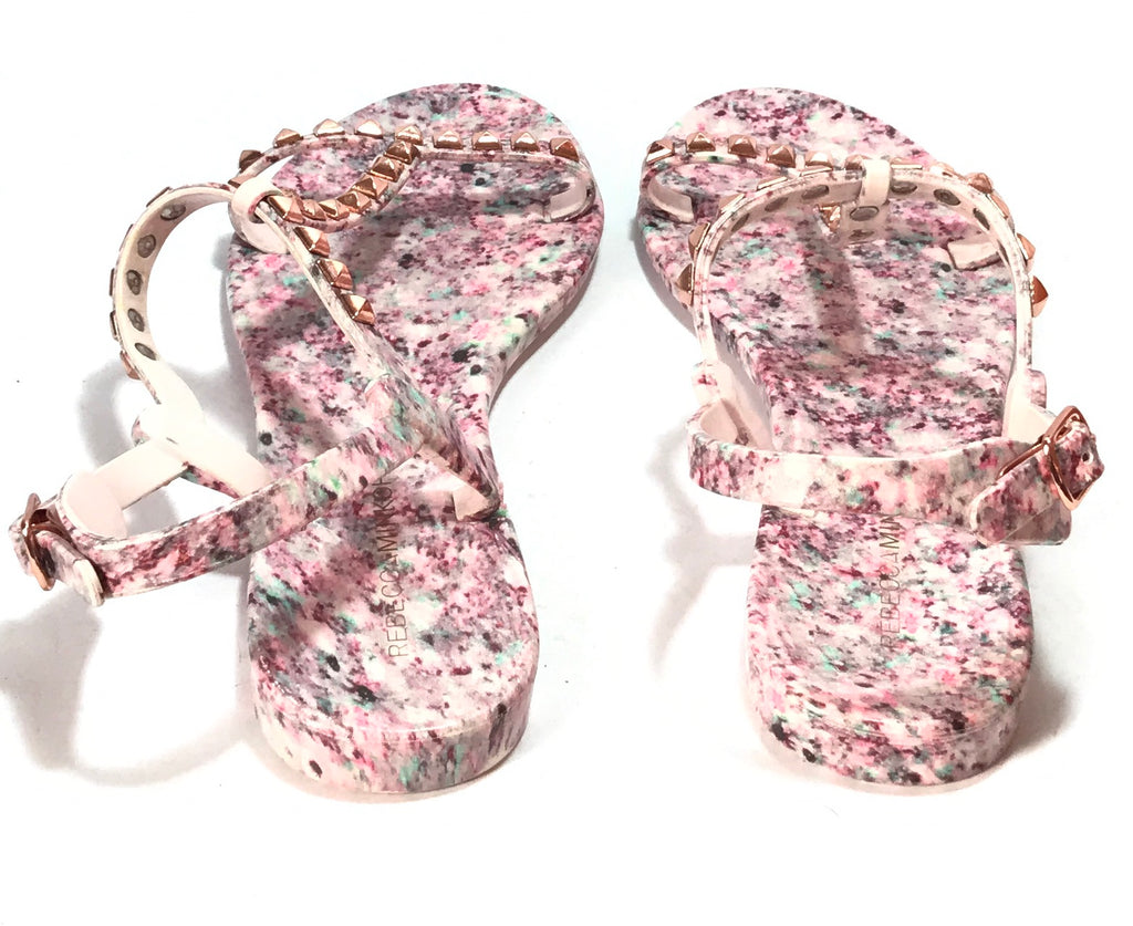 Rebecca Minkoff Pink Stud Sandals | Gently Used |