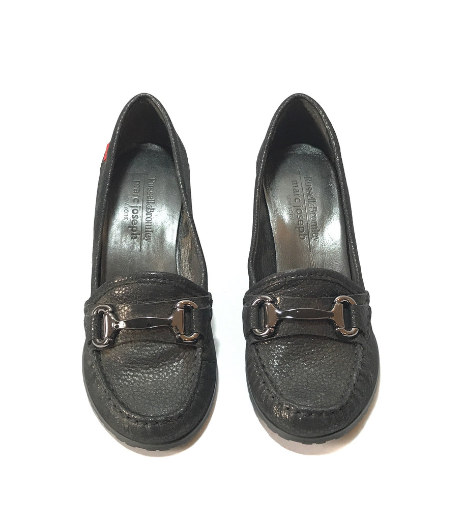 Russell & Bromley for Marc Joseph Black Wedges | Like New |