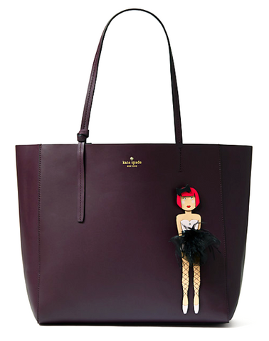 Kate Spade 'on pointe ballerina hallie' Tote | Brand New |