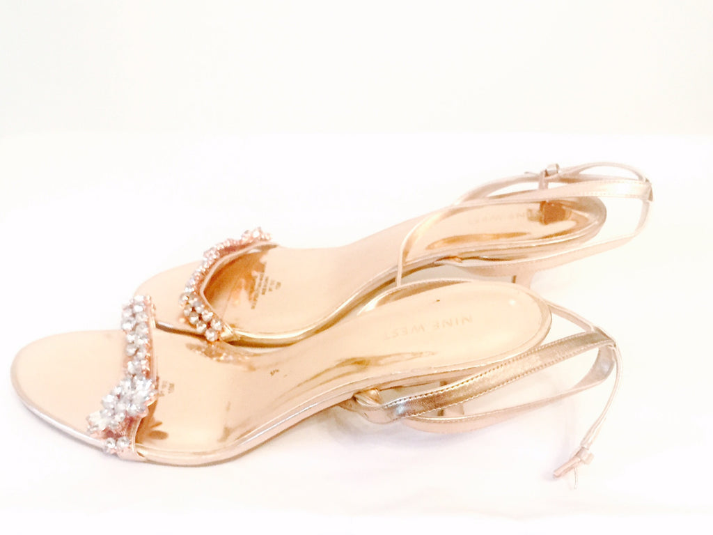 Nine West Crystal Kitten Heels | Brand New | - Secret Stash