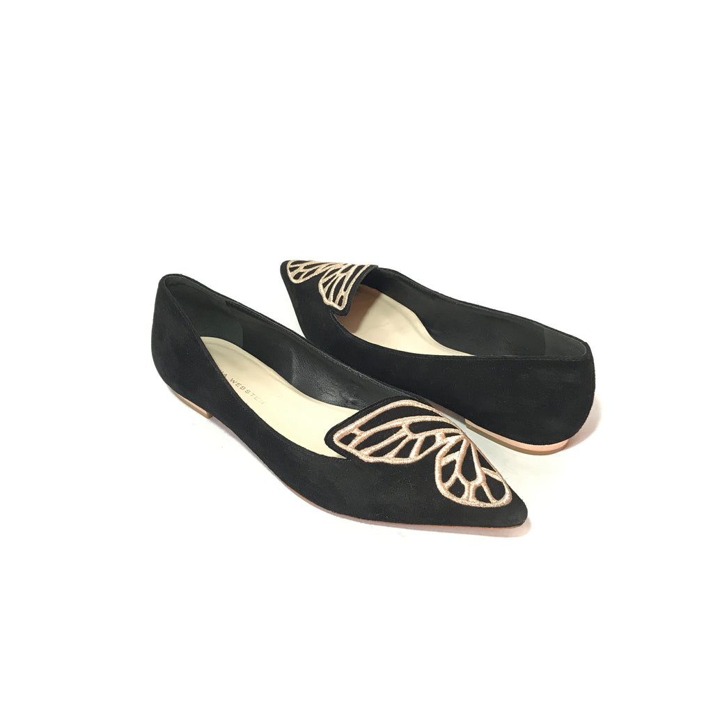 Sophia Webster Bibi Butterfly Flats | Pre Loved |
