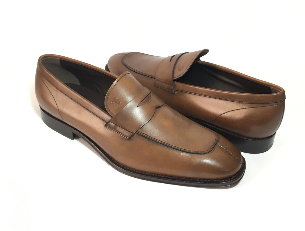 0748522787a Tod s Men s Brown Leather Loafers