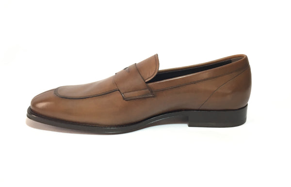 Tod's Men's Brown Leather Loafers | Brand New |