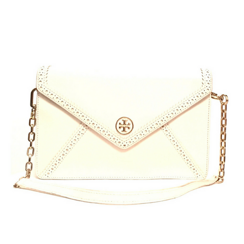 Tory Burch Cream Medium Shoulder Bag | Gently Used | - Secret Stash