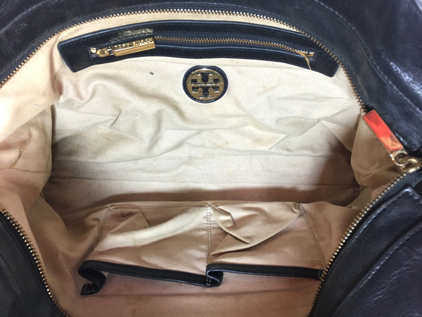 Tory Burch Pebbled Leather Shoulder Bag | Pre Loved |