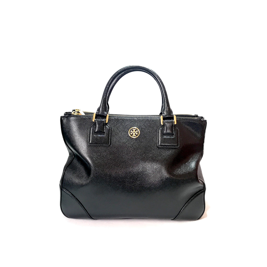 Tory Burch 'Robinson' Double Zip Large Leather Tote | Gently Used |