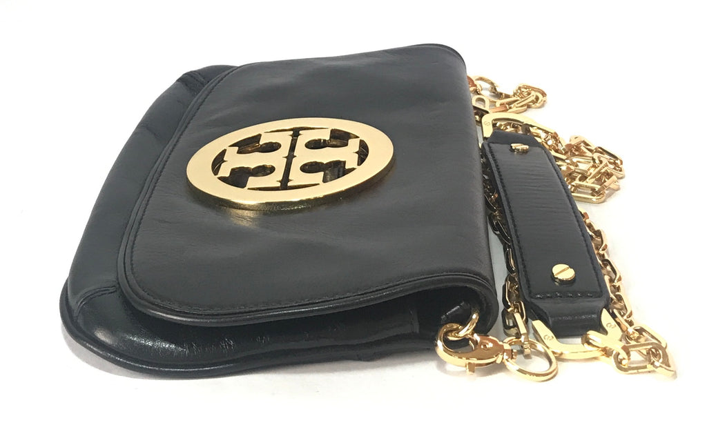 Tory Burch Black 'REVA' Clutch | Like New |