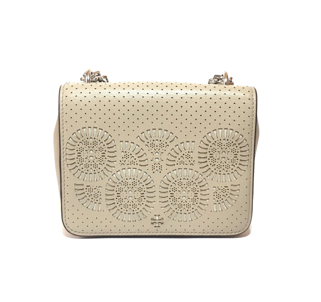 Tory Burch 'ZOEY SHRUNKEN GRAY' Shoulder Bag | Like New |