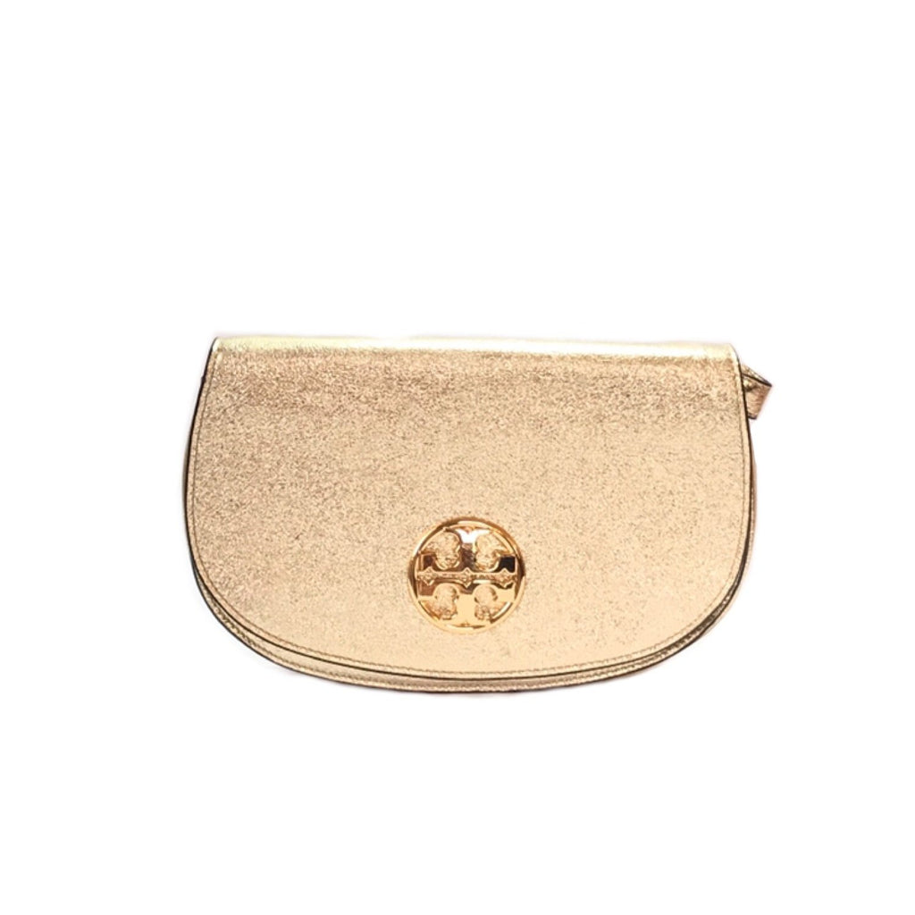 Tory Burch Gold Glitter Shoulder Bag | Gently Used |