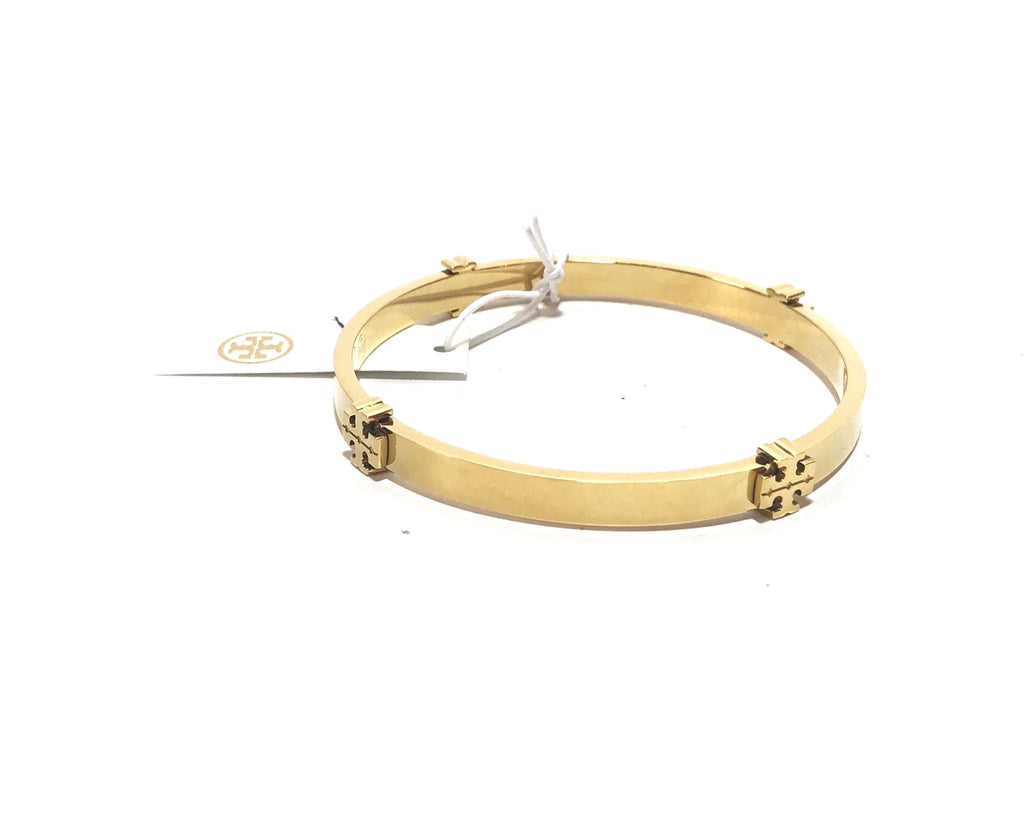 Tory Burch Gold Logo Bangle | Brand New |