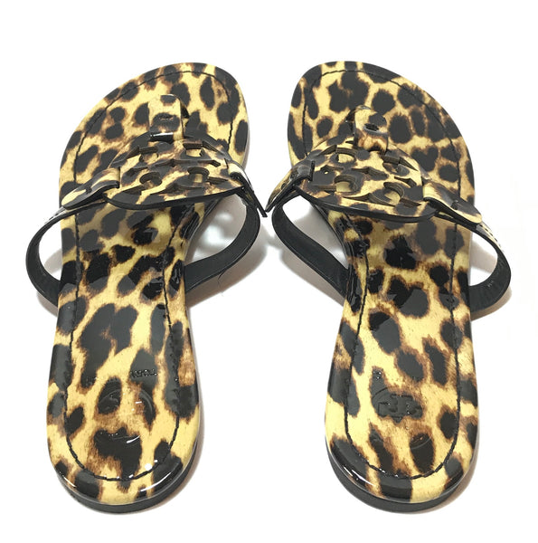 Tory Burch MILLER Cheetah Print Sandals | Like New |