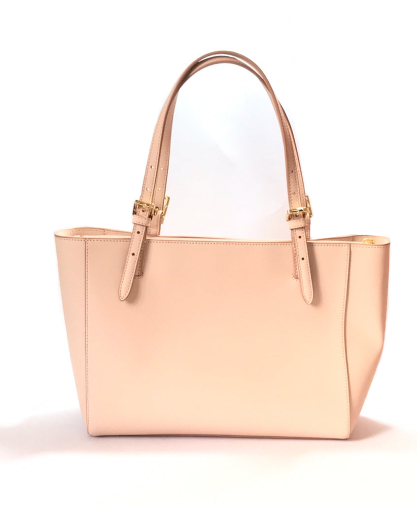 Tory Burch Light Pink Leather Medium YORK Tote | Like New |