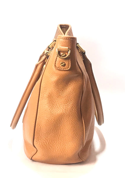 Tory Burch 'AMANDA' Tan Leather Tote | Gently Used |