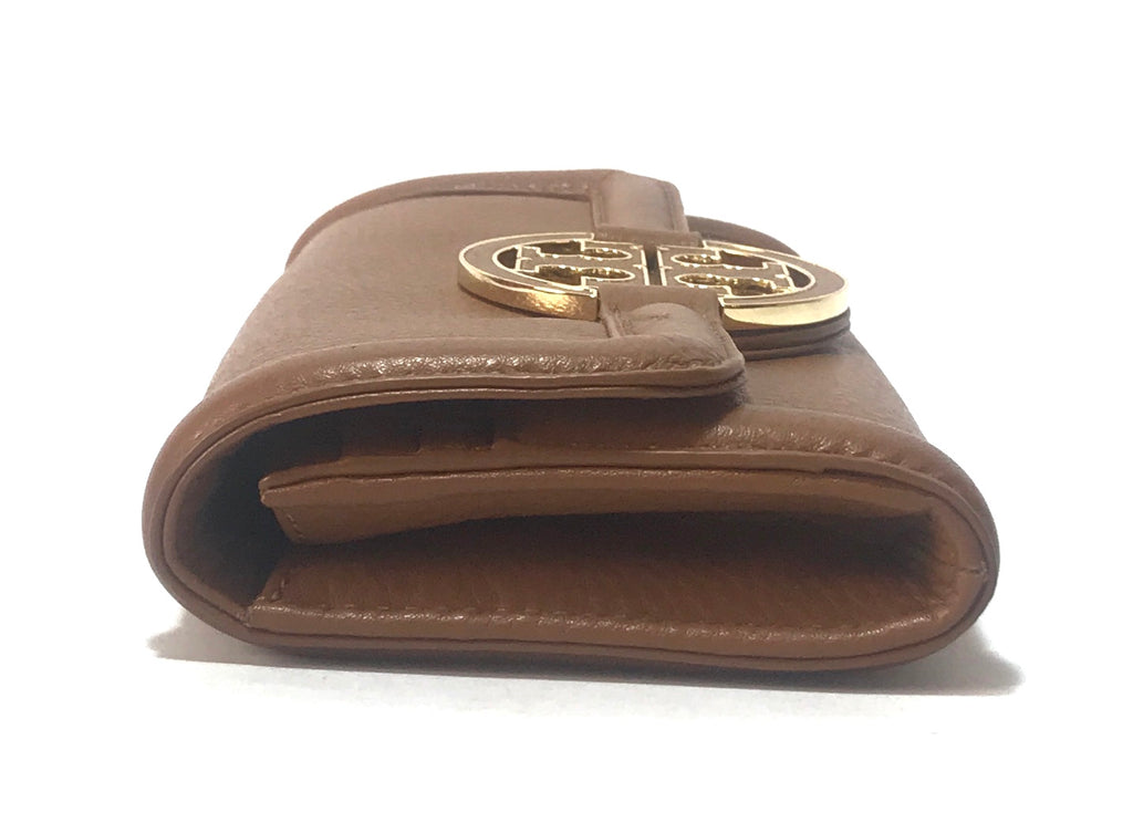 Tory Burch Tan 'Amanda' Envelope Flap Wallet | Gently Used |
