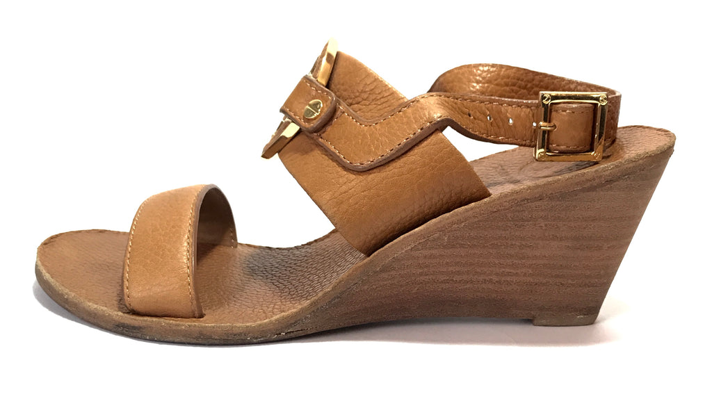 Tory Burch 'Amanda' Wedge Sandals | Gently Used |