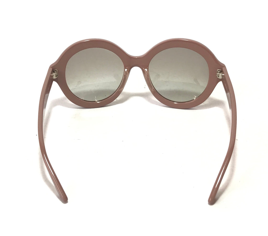 Valentino V696S Round Rockstud Sunglasses | Like New |