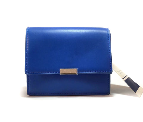 ZARA Cobalt Small Blue Cross Body Bag | Brand New |
