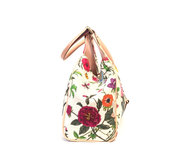Gucci Limited Edition Floral Canvas Jackie Hobo bag | Gently Used | - Secret Stash