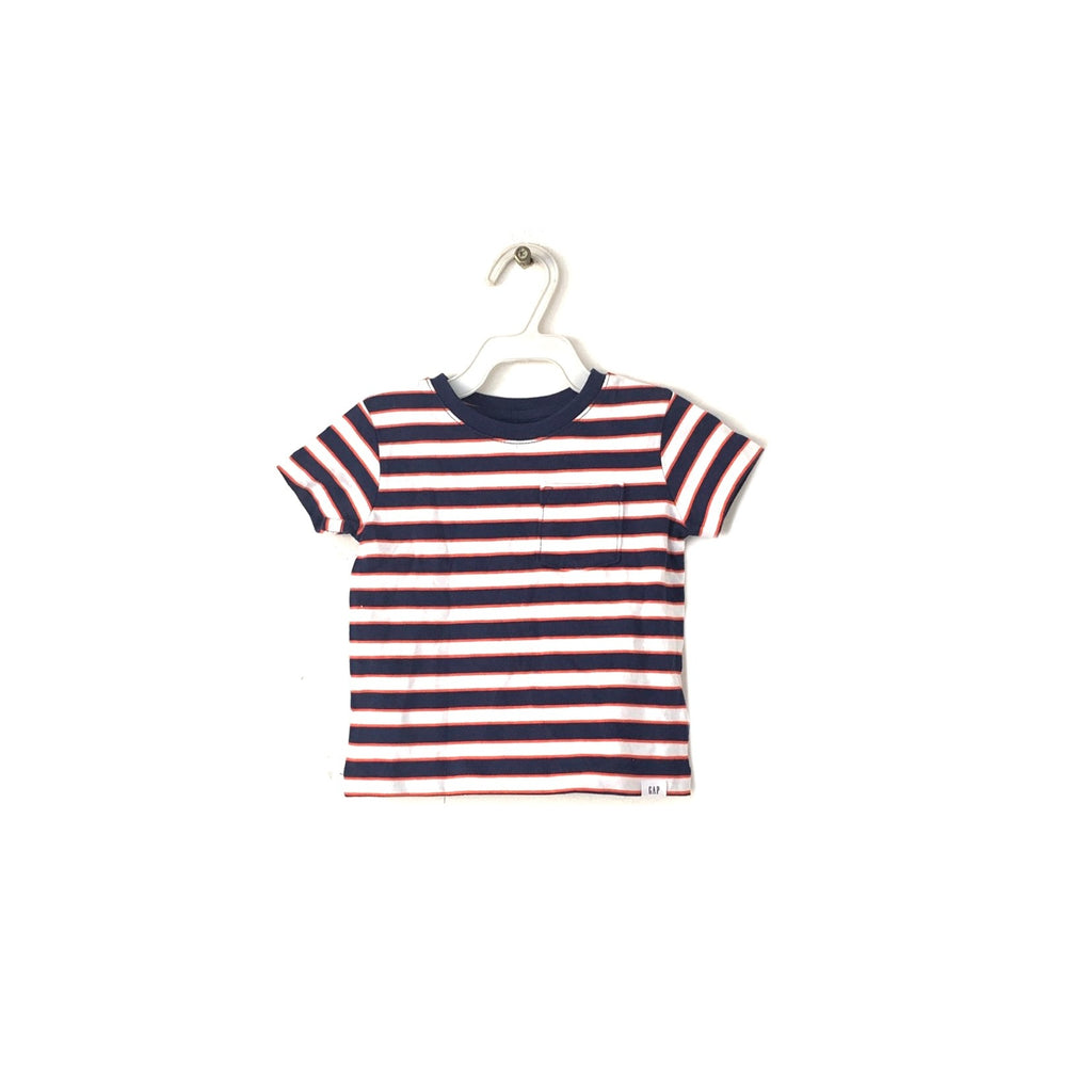 Baby Gap Orange Striped T-Shirt | Brand New |