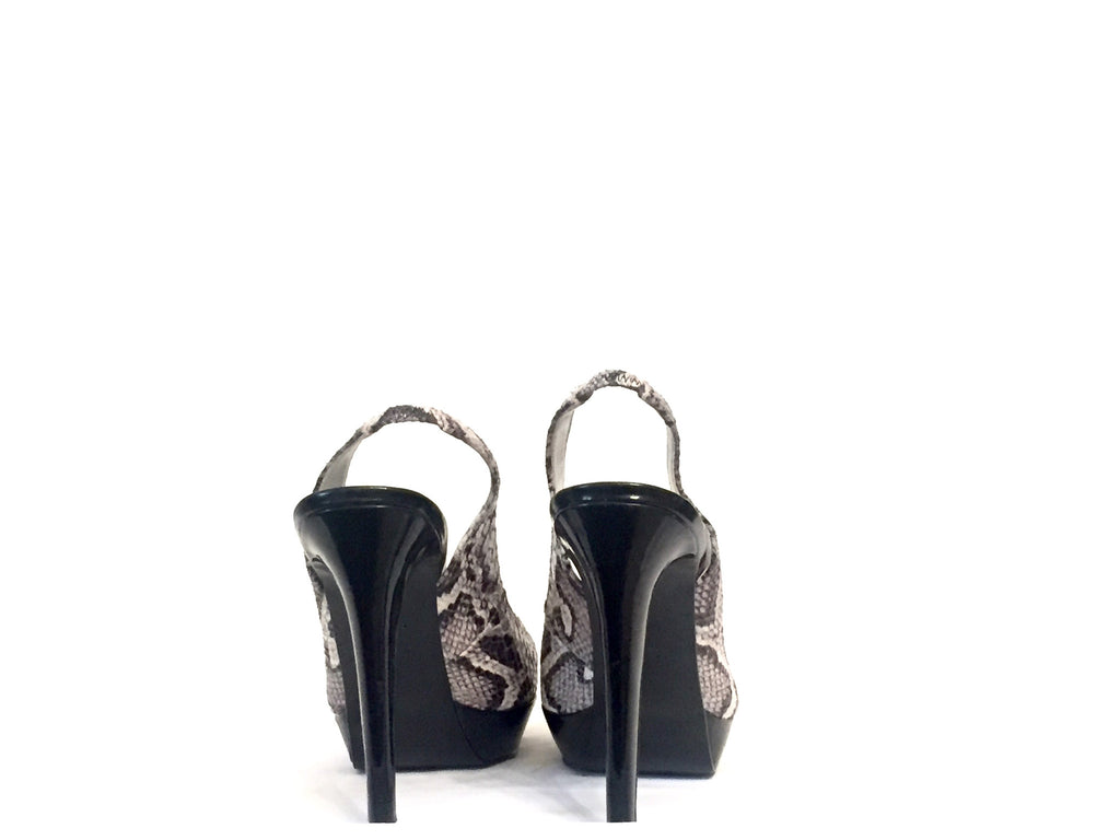 Guess Snakeskin Platform Pumps | Gently Used | - Secret Stash