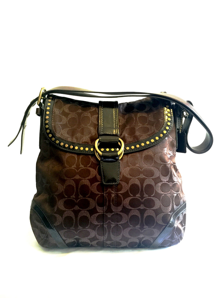 Coach Signature Collection Handbag | Gently Used | - Secret Stash