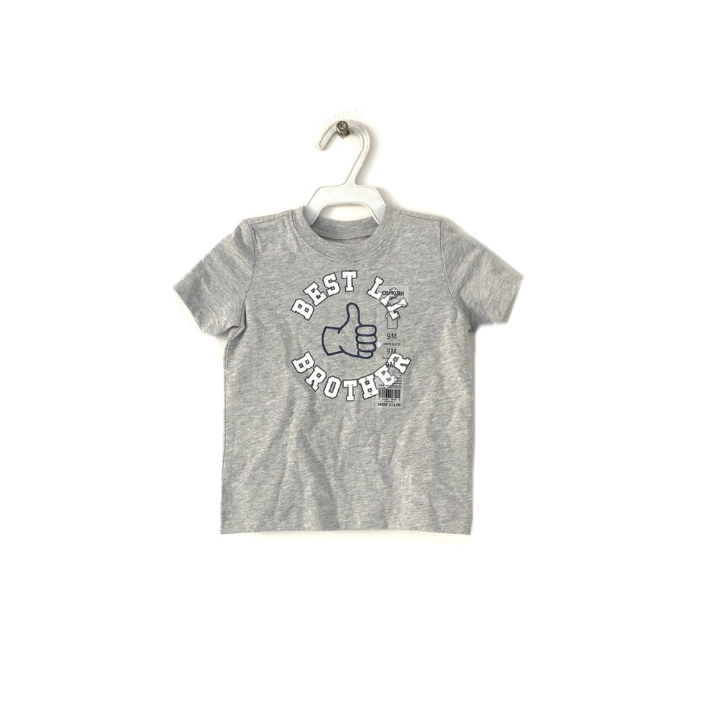 Oshkosh Grey T-Shirt | Brand New |