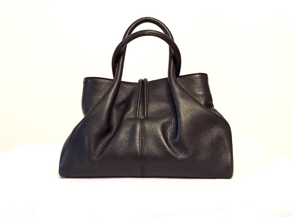 Burberry Leather & House Check Tote Bag | Gently Used | - Secret Stash
