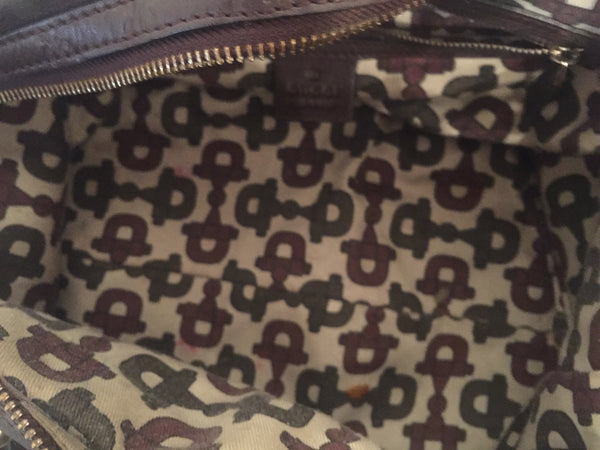 Gucci Leather Tote Bag | Gently Used | - Secret Stash