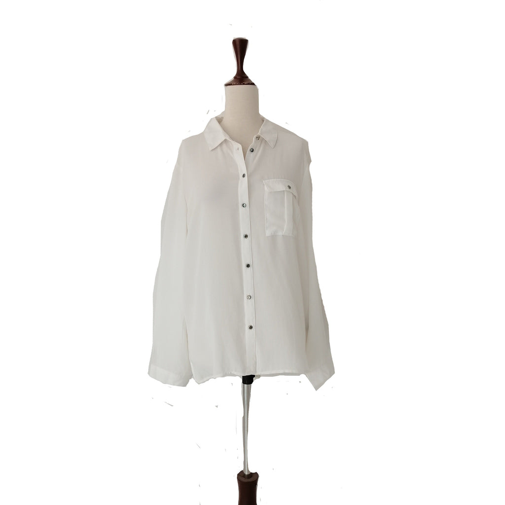 Suzy Shier White Shirt | Brand New |