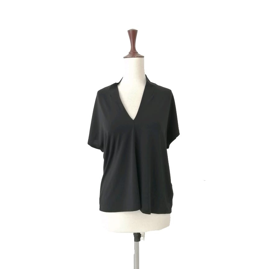 H&M Black Short-Sleeved Top | Brand New |