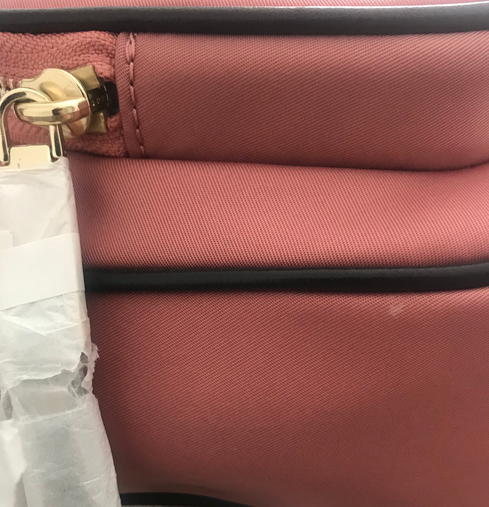 Michael Kors Rose Pink 'Leila' Camera Bag | Brand New |