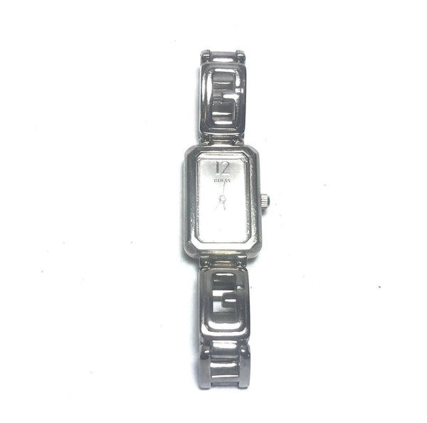 Guess Silver Stainless Steel Bracelet Watch | Pre Loved |