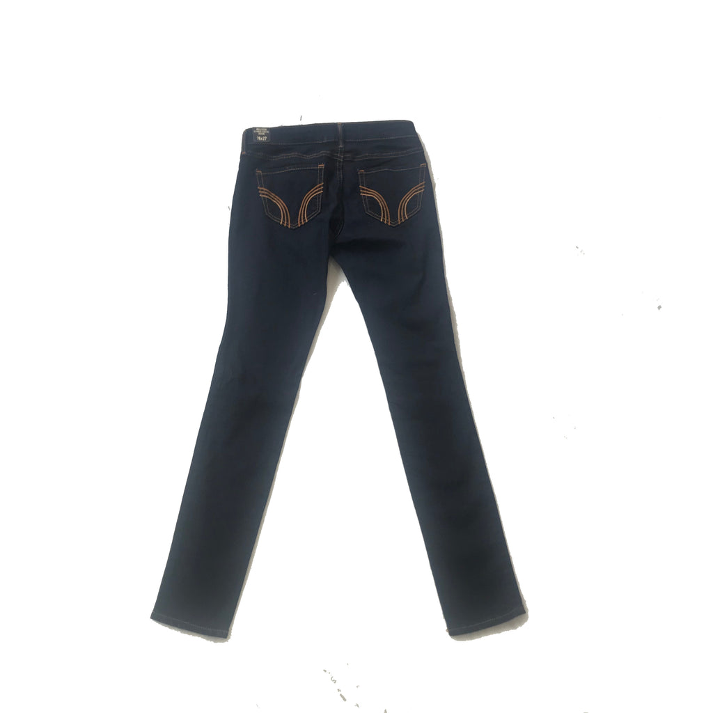 Hollister Ultimate Stretch Dark Denim Jeggings | Brand New |