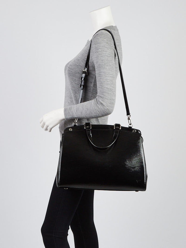 Louis Vuitton Black Epi Leather Brea GM Tote