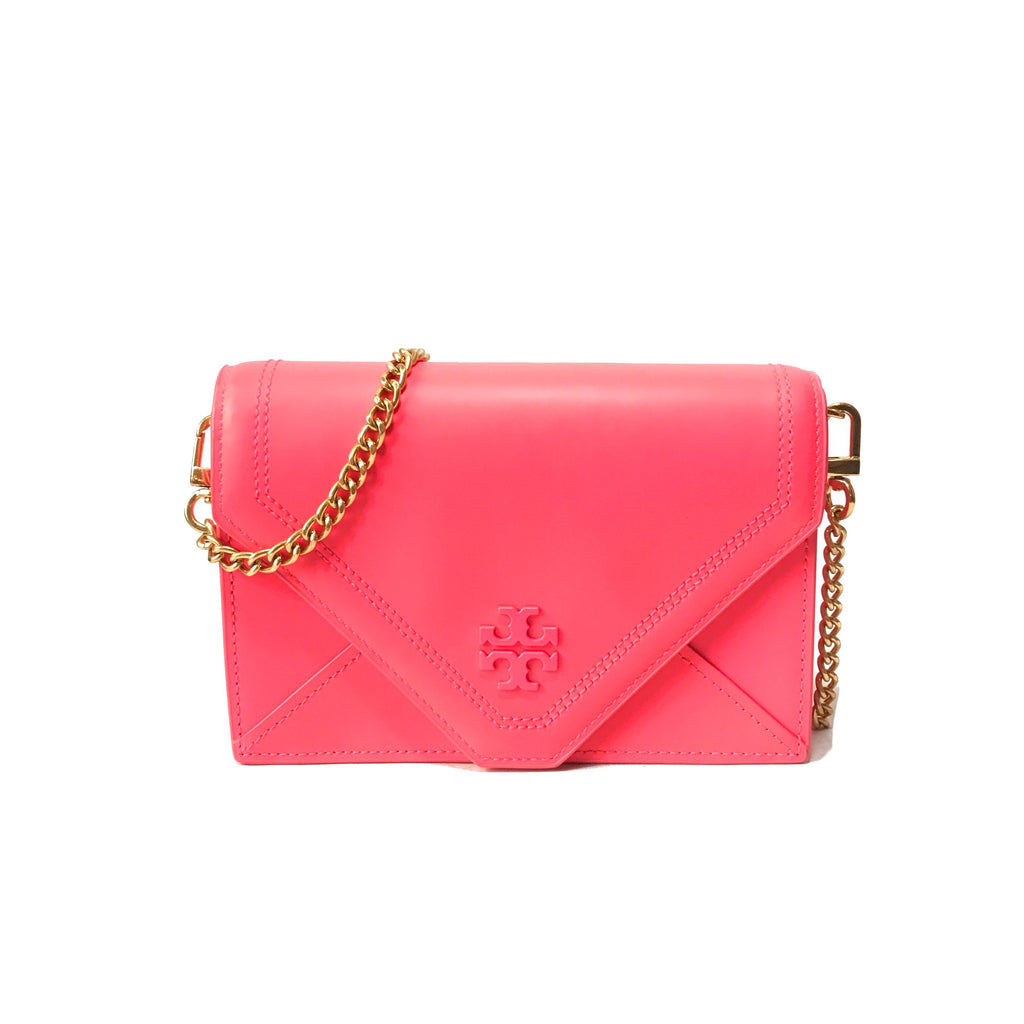Tory Burch Neon Pink Cross Body Bag