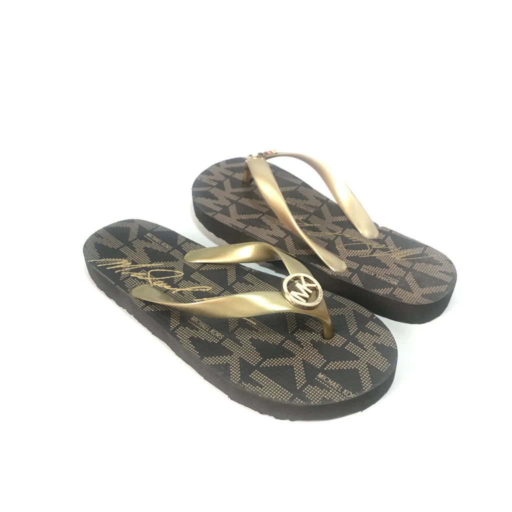 Michael Kors Rubber Flip Flops | Like New |
