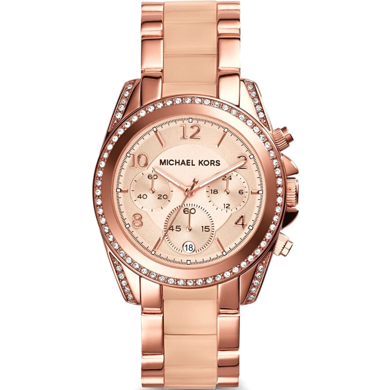 Michael Kors MK5943 BLAIR Chronograph Watch | Like New |