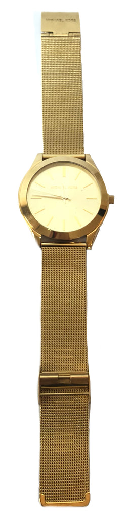 Michael Kors MK3282 Gold Mesh Watch | Gently Used |