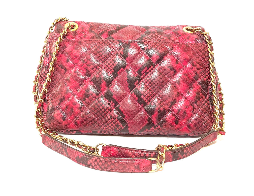 Michael Kors 'Viviane' Quilted Pink Leather Bag | Pre Loved |