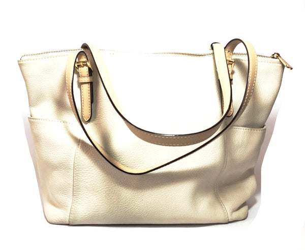 Michael Kors Jet Set Off-White East West Tote | Pre Loved |