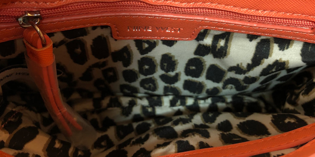 Nine West Orange Shoulder Bag | Pre Loved |