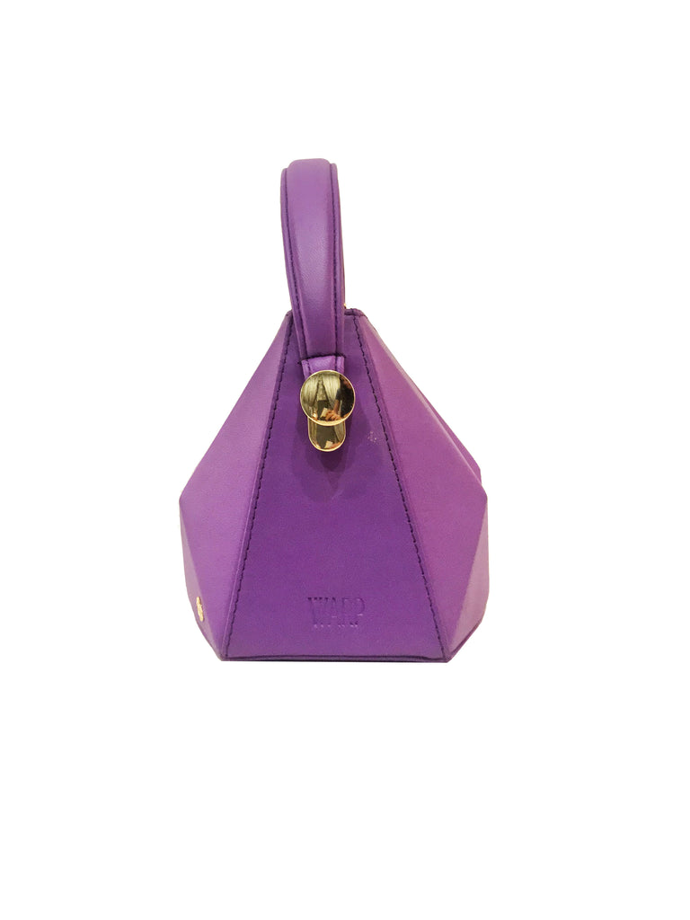 Warp Lavender Leather Mini Bag | Sample |