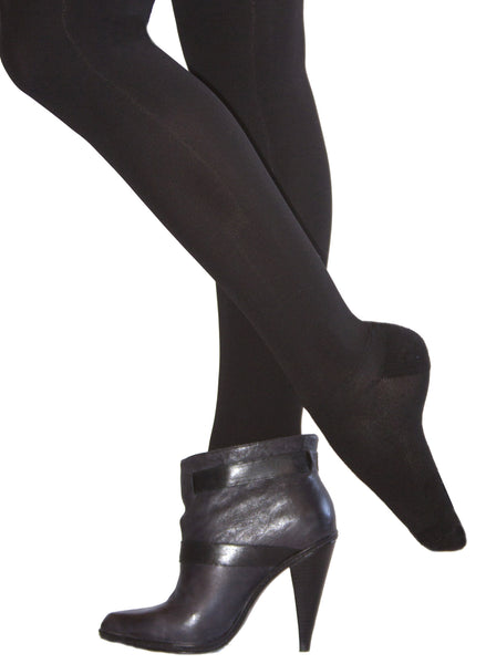 All-Over Smoothing Shaper Tights Black Out Black