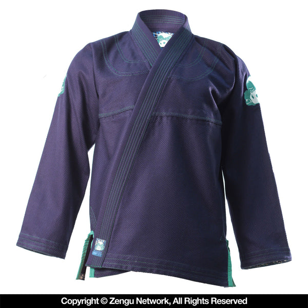 Inverted Gear Bamboo Panda Navy Blue BJJ Gi