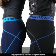 "93 Brand ""Standard Issue"" Spats - 2pack Black/Blue, Royal/Light Blue"