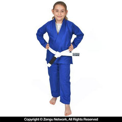 93 Brand Standard Issue Children's Blue BJJ Gi