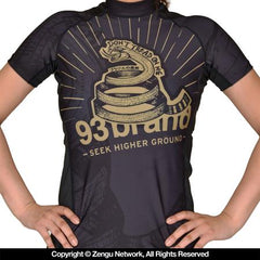 "93 Brand ""Strong Snake"" Women's Rash Guard"